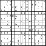 Sudoku sehr schwer 4x4