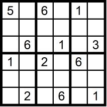 Sudoku schwer 2x3