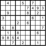Sudoku 3x3 sehr schwer