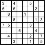 Sudoku sehr schwer 2x4