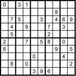 Sudoku online rätseln scher schwer 2x5